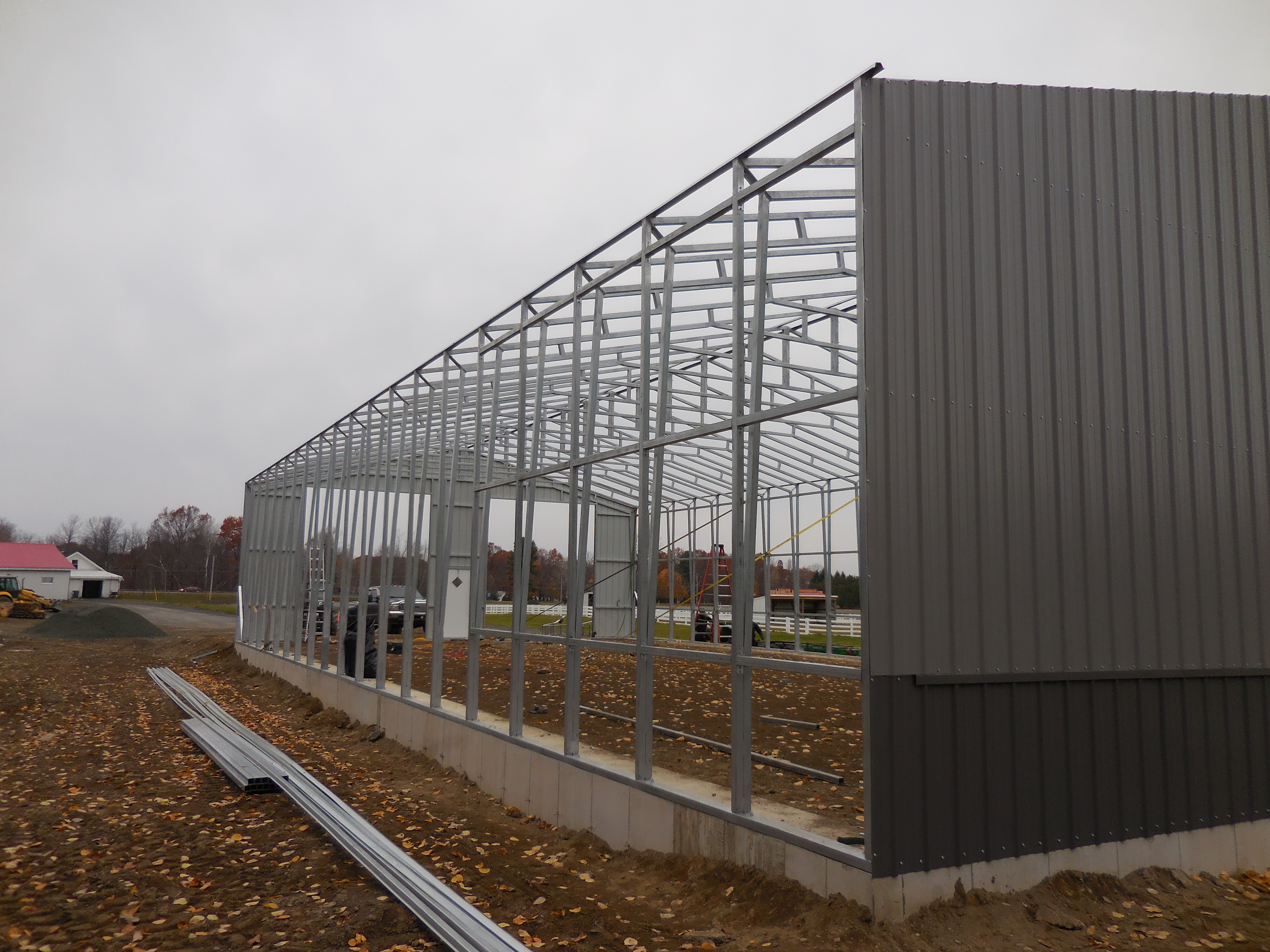 Joe 39 s carports and metal buildings mechanicville ny for 40x80 steel building