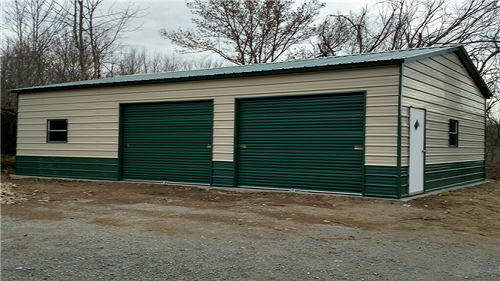 Metal Construction Garage