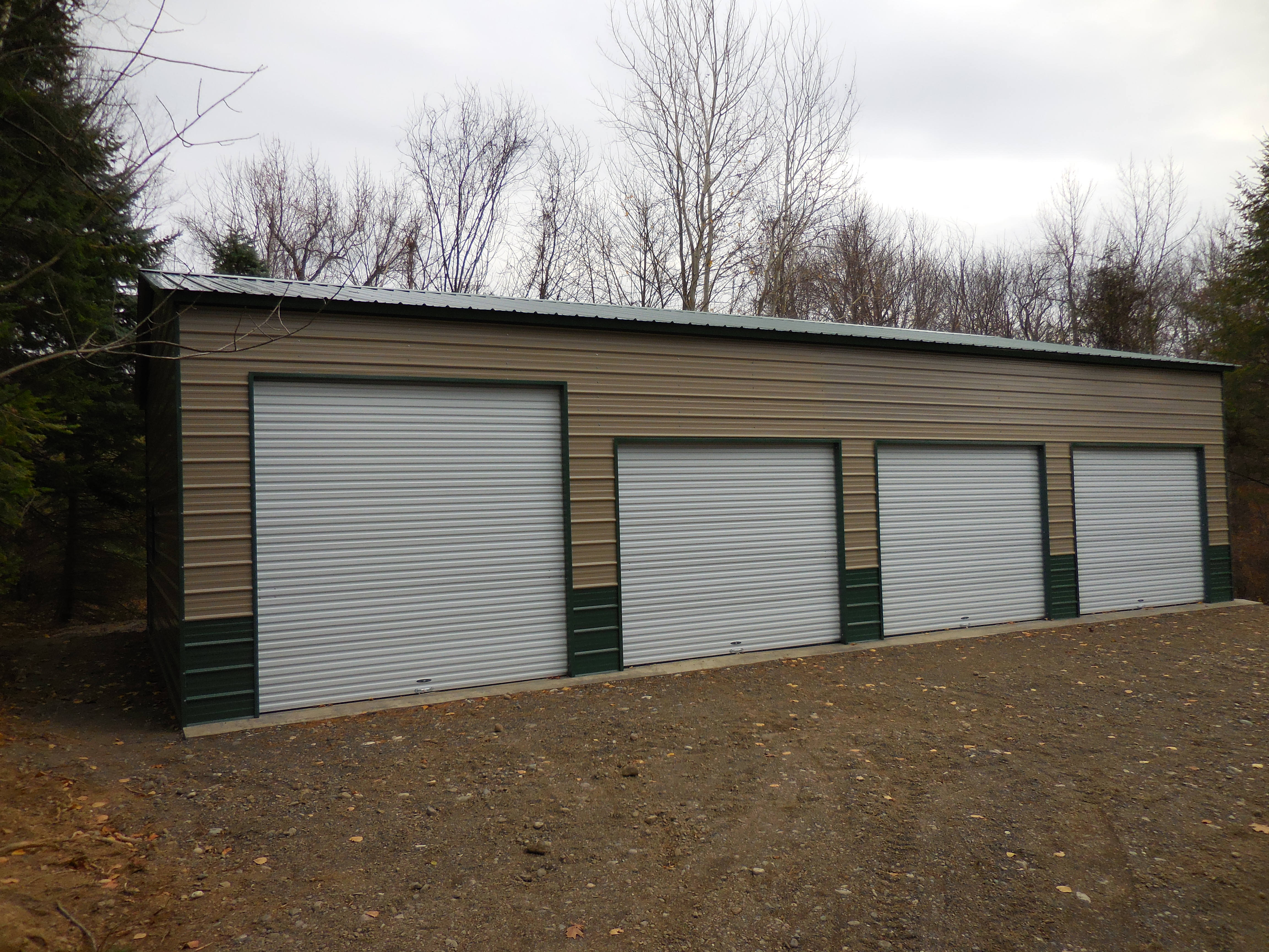 building commercial specialized garage metal buildings